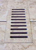 Porcelain vent cover made to match Lancaster Sand tile. Size -  4 Inch x 11 Inch