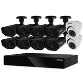 Defender Widescreen 16CH DVR With 2TB HDD, 2 X Dome And 8 X Bullet 800TVL Cameras