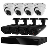 Defender Widescreen 8CH DVR With 2TB HDD, 4 X Dome And 4 X Bullet 800TVL Cameras
