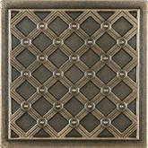 4 Inchx4 Inch Cast Bronze Metal Kairos Deco