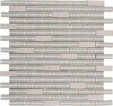 Sierra Ridge 12 in. x 12 in. x 6 mm Glass Stone Mesh-Mounted Mosaic Tile