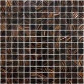 3/4 X 3/4 Java Bronze Glass Mosaic