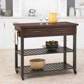 Cabin Creek Kitchen Cart