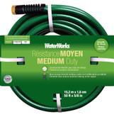 WATERWORKS Medium Duty Hose 5/8 X 50 Ft