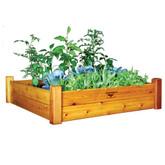 Raised Garden Bed 48x48x13 Safe Finish