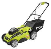 Ryobi 20 Inch Brushless 40V Mower with Two 4.0amp Batteries