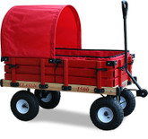 Classic Covered Kids Wagon