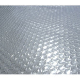 28-Feet Round 12-mil Solar Blanket for Above Ground Pools - Clear