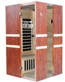 Full Size 2 Person Euro Design Carbon Tech Sauna with MP3 & Speakers