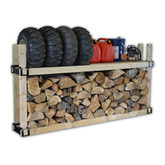 2x4 Rack Structure & Log Holder