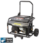 Firman 7000 Watt 13 HP Remote Start Gas Powered Portable Generator and Wheel Kit