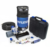 Hyundai 3 Gal. Portable Electric Air Compressor With 6-Tool DIY Kit