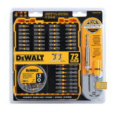 DeWalt 72-Piece Max Fit Screw Driving Accessory Set