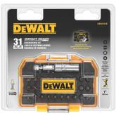 Dewalt Impact Ready Bit Set With Flex Torq Compact Tough Case (31-Piece)