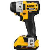 20-Volt Max XR Lithium-Ion Cordless Brushless 3-Speed 1/4  Inch Impact Driver