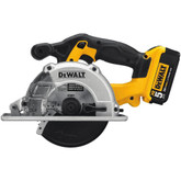 20V MAX Li-Ion Metal Cutting Saw (5.0Ah) w/ 2 Batteries and Kit Box
