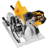 7-1/4 Inch Circular Saw w/ Rear Pivot Depth of Cut and Electric Brake 15 Amp