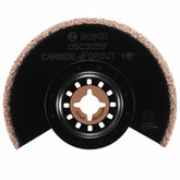 3-1/2  Inch.  X 1/8  Inch.  Kerf Multi-Tool Carbide/Grit Grout Grinding Blade