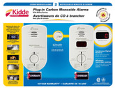 2 Pack Plug-In CO Alarm