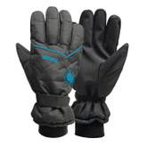 SB Black Ski Glove Medium