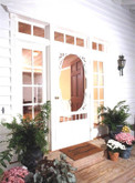 Georgian Solid Vinyl Screen Door 34 Inch x 80 Inch