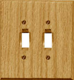 Dbl Toggle Natural Oak