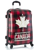 Heys Canada Flannel 26 inch Suitcase - RED - 26 IN