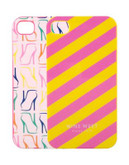 Nine West Hard iPhone 5 Case - PINK MULTI/YELLOW MULTI