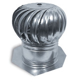 12 inch Turbine Galvanized Internally Braced Dual Bearing Combo