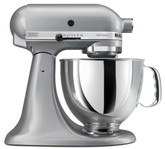 KitchenAid Artisan 5-Quart Stand Mixer Silver Metallic