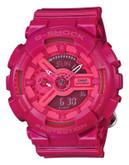 Casio Womens Neon Oversized AnaDigi Watch GMAS110CC-4A - PINK
