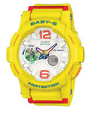 Casio Baby-G Tide Graph Analog Watch - YELLOW