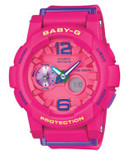 Casio Baby-G Tide Graph Analog Watch - PINK