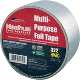 Nashua 322 Multi-Purpose Foil Tape, 1.89in x 10yd