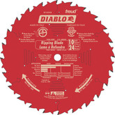 FREUD 10 In. Diablo Ripping Blade - 24 Teeth