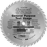 FREUD 10 In. General Purpose Blade - 40 Teeth