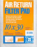 Cold Air Return Filter 10 in. x 30 in.