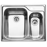 1 1/2 Bowl Topmount Stainless Steel Kitchen Sink