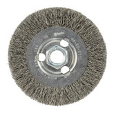 4 Inch Radial Crimped Wheel- Carbon Steel