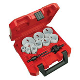 13-Pc General Purpose Ice Hardened  Hole Saw Kit
