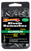 "Short aluminum 3/16"" rivet - Pack of 50"