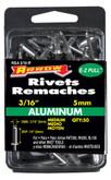 "Short aluminum 3/16"" rivet - Pack of 50"