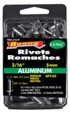 "Medium aluminum 3/16"" rivet - Pack of 50"