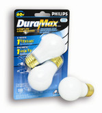 60W Fan & Garage Door White Bulb 2Pk