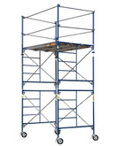 """SAFERSTACK  """"Contractor Series"""" Complete 10 feet Scaffolding Tower with Casters"""