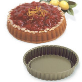 Non-Stick Round Fluted Tart Pan - 8.5""