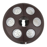 6-Light Rechargeable LED Umbrella Light