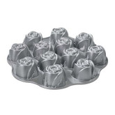 Non-stick Muffin Pan, Roses