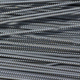 15mm Rebar 3M / 10Feet - Black Steel