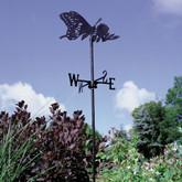 Butterfly - Garden Weathervane - Black